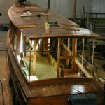 Salonboot, restauratie
